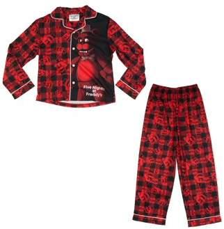 Boy's Five Nights at Freddy's Button Front 2 Piece Pajama Sleep Set (Big Boys & Little Boys)