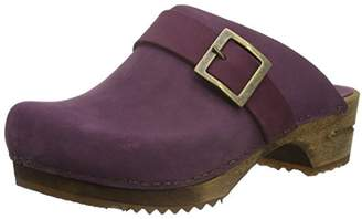 Sanita Women's Urban Open Clogs, Purple (Aubergine 47) UK
