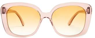 Prism Monaco Acetate Sunglasses - Womens - Pink