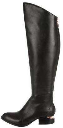 Alexander Wang Leather Over-The-Knee Boots