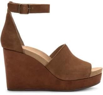 Lucky Brand Yemisa Suede Wedge Sandals