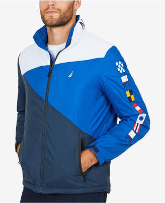 Nautica Men Heritage Signal Flag Jacket