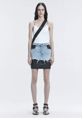 Alexander Wang TANK WITH CHAIN STRAPS