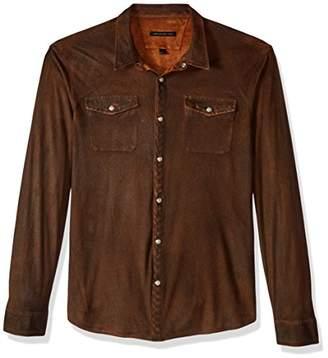 John Varvatos Men's Long Sleeve Western Shirt Bild