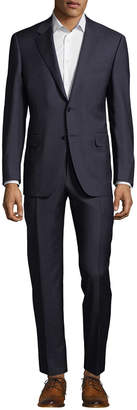 Canali Wool Check Suit