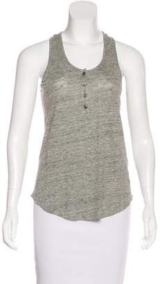Frame Sleeveless Linen Top w/ Tags
