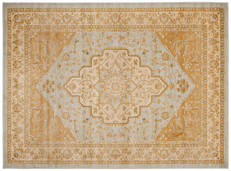 One Kings Lane Behati Rug - Light Gray/Gold