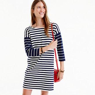 Colorblock stripe ponte dress $88 thestylecure.com