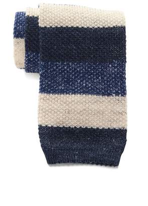 Thomas Pink Gentleman Stripe Knit Tie