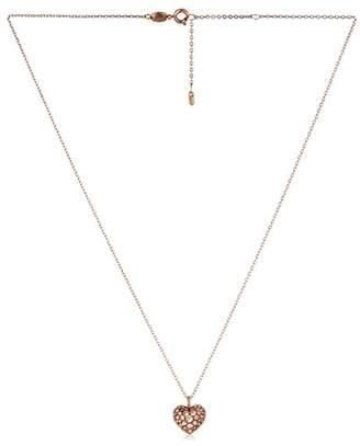 Fossil Glitz Heart Pendant Necklace