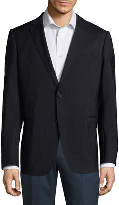 Armani Collezioni Notch Lapel Wool Jacket