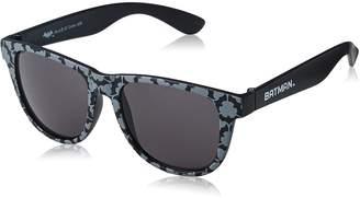 Bioworld DC Comics Batman Logo Wayfarer Sunglasses with All Over Print Pouch Case
