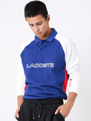 Lacoste Regular Fit Long Sleeve Logo Polo