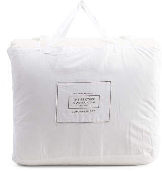 3pc Ibiza Textured Comforter Set
