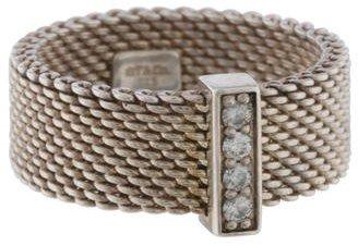 Tiffany & Co. Somerset Diamond Ring $375 thestylecure.com