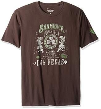 Lucky Brand Men's Shamrock Poker Graphic Tee