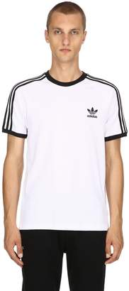 adidas 3-Stripes Cotton Jersey T-Shirt
