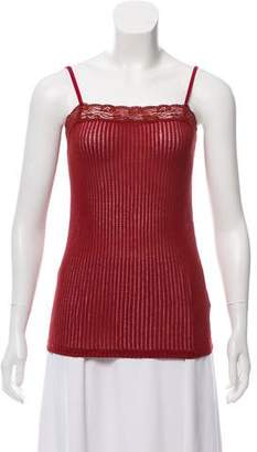 Helmut Lang Sleeveless Laced Blouse
