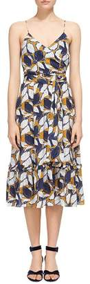 Whistles Lemon Print Sun Dress