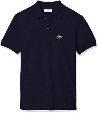 Lacoste (ラコステ) - (ラコステ) LACOSTE BOYSポロシャツ(半袖) PJ2909L 166 ネイビー 10A