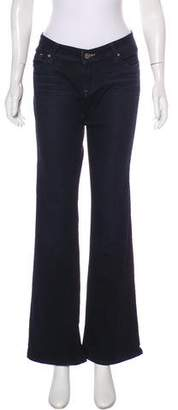 Genetic Los Angeles Mid-Rise Wide-Leg Jeans