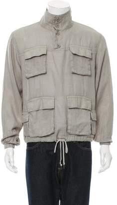 John Elliott Linen Utility Jacket w/ Tags