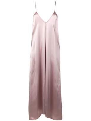 Forte Forte satin plunge dress