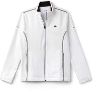 Lacoste (ラコステ) - 『ノバク・ジョコビッチ』 テクニカル ミッドレイヤー ジップ スウェットシャツ