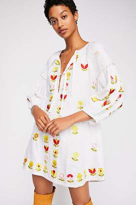 DAY Birger et Mikkelsen Innika Choo Hans Ufmafrok Embroidered Smock Dress