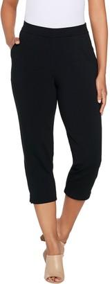 Susan Graver Weekend Premium Stretch Pull-On Capri Leggings
