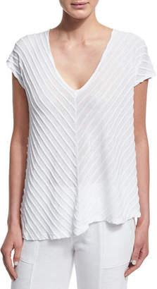 XCVI Meli Zita Knit V-Neck Top, Plus Size