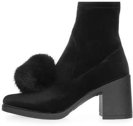Topshop Topshop Belle furry pom boots
