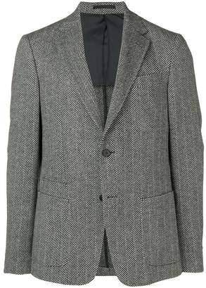 Ermenegildo Zegna patch pocket blazer