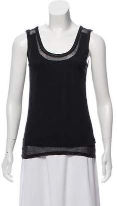 Maison Margiela Layered Sleeveless Top