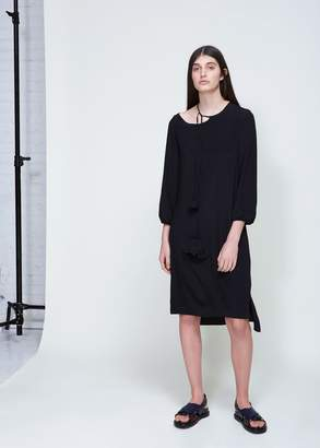 Marni Long Sleeve Dress with Neck Tie