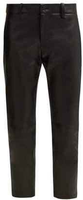Nili Lotan Tel Aviv Leather Pants - Womens - Black