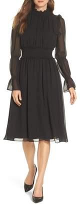 Chelsea28 Ruffle Midi Dress