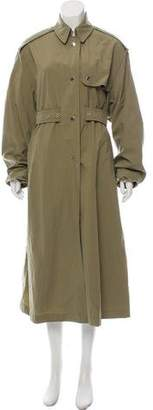 Isabel Marant Belt-Accented Trench Coat