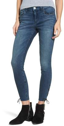 STS Blue Emma Lace-Up Ankle Skinny Jeans