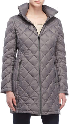 Michael Kors Diamond Quilted Down Coat