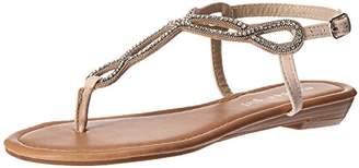 Madden-Girl Women's TIMBERR Flat Sandal
