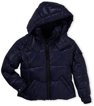 S13 (Toddler Girls) Mogul Down Hooded Coat