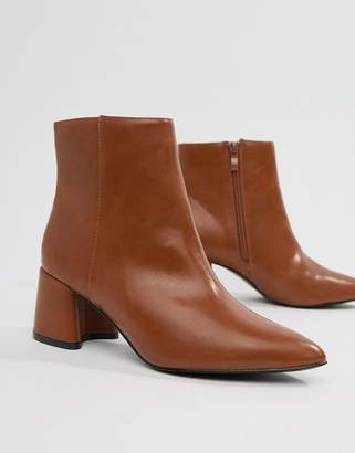 Park Lane Block Heel Ankle Boots