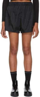 Prada Black Nylon Sporty Shorts