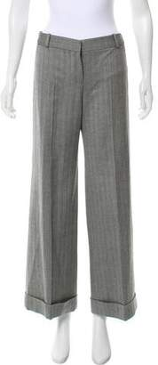 Chloé Herringbone Mid-Rise Pants w/ Tags