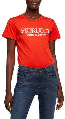 Fiorucci Cash & Carry Logo Graphic Tee