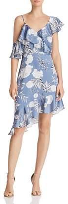 Lucy Paris Emely Asymmetric Floral Print Dress - 100% Exclusive
