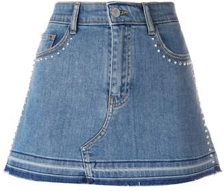 Zadig & Voltaire denim fitted skirt