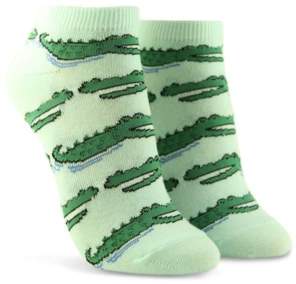 Forever 21 Alligator Graphic Ankle Socks