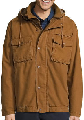 Smith Workwear Smith's Workwear Sherpa-Lined Duck-Cotton Work Jacket